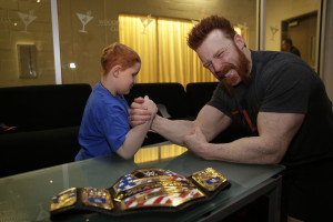 Sheamus make a wish