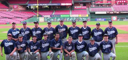 The South central Cougars from their game at Busch Stadium earlier this season.