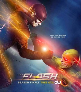 Promotional art for the Flash season finale.