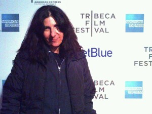 Hansi Oppenheimer shown here at the Tribeca Film Festival. (Credit Facebook)