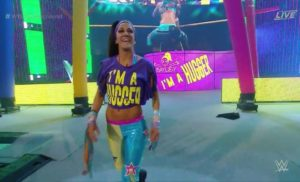 Who was Sasha Banks' mystery partner? IT'S BAYLEY!