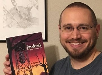Nerds United Episode 79: Broderick Writer Ron Bryce