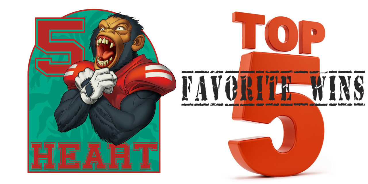 Five Heart Podcast Episode 59: Top 5 Favorite Husker Football Wins