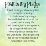 Positive Cynicism 41: Pledge of Positivity