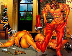 Warrior-Santa