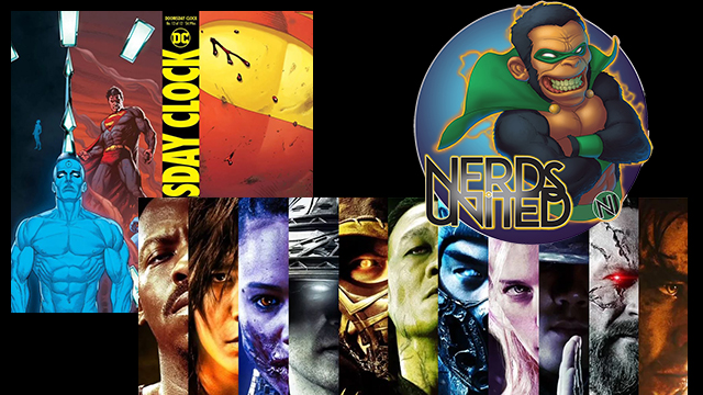 Nerds United Episode 221: Comics and Trailers