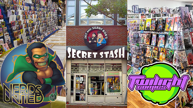 Nerds United Episode 244: An Ode to Comic Book Stores