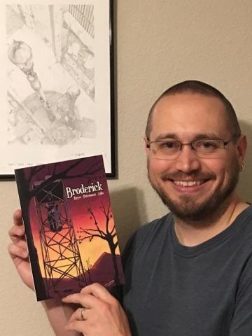 Nerds United Episode 79: Broderick Writer Ron Bryce