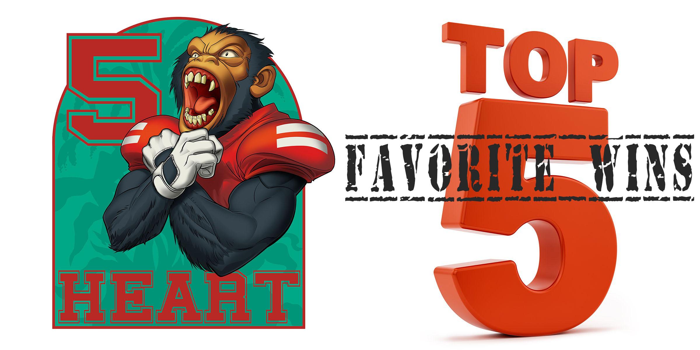 Five Heart Podcast Episode 59: Top 5 Favorite Husker Football Wins