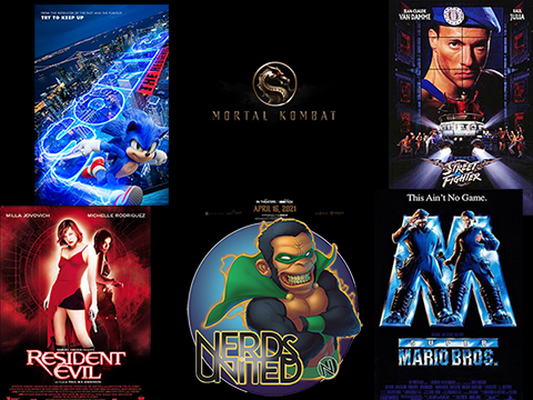 Nerds United Episode 219: Video Game Movies