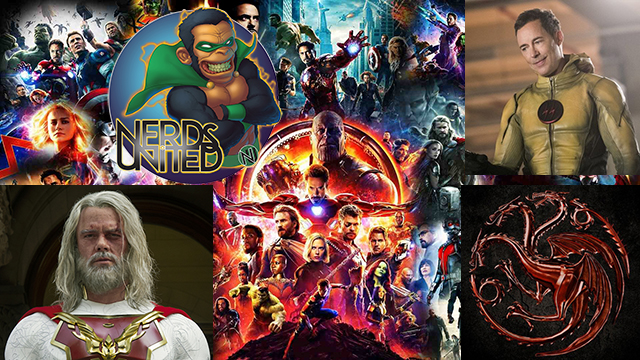 Nerds United Episode 229: Updates Around Pop Culture